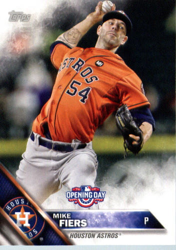 Photo of 2016 Topps Opening Day #OD137 Mike Fiers