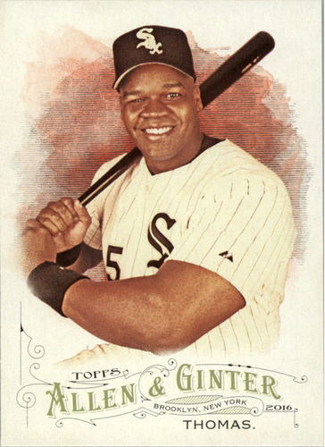 Photo of 2016 Topps Allen and Ginter #268 Frank Thomas