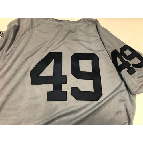Photo of Team-Issued 1968 World Series 50th Anniversary Jersey: #49