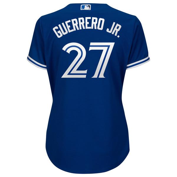 6141c1f9f Toronto Blue Jays Women s Replica Vladimir Guerrero Jr. Alternate Jersey by  Majestic