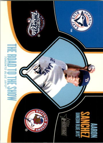 Photo of 2013 Topps Heritage Minors Road to the Show #AS Aaron Sanchez
