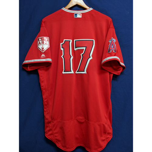 Photo of Shohei Ohtani Team-Issued 2019 Spring Training Jersey