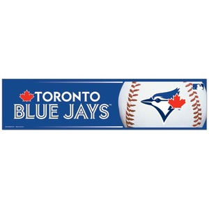 Toronto Blue Jays Bumper Sticker by Wincraft