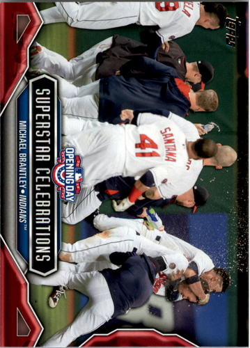 Photo of 2016 Topps Opening Day Superstar Celebrations #SC9 Michael Brantley