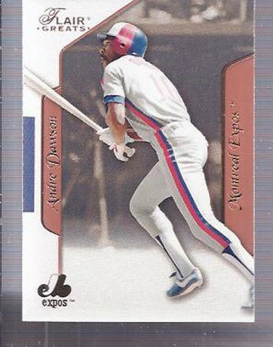 Photo of 2003 Flair Greats #59 Andre Dawson
