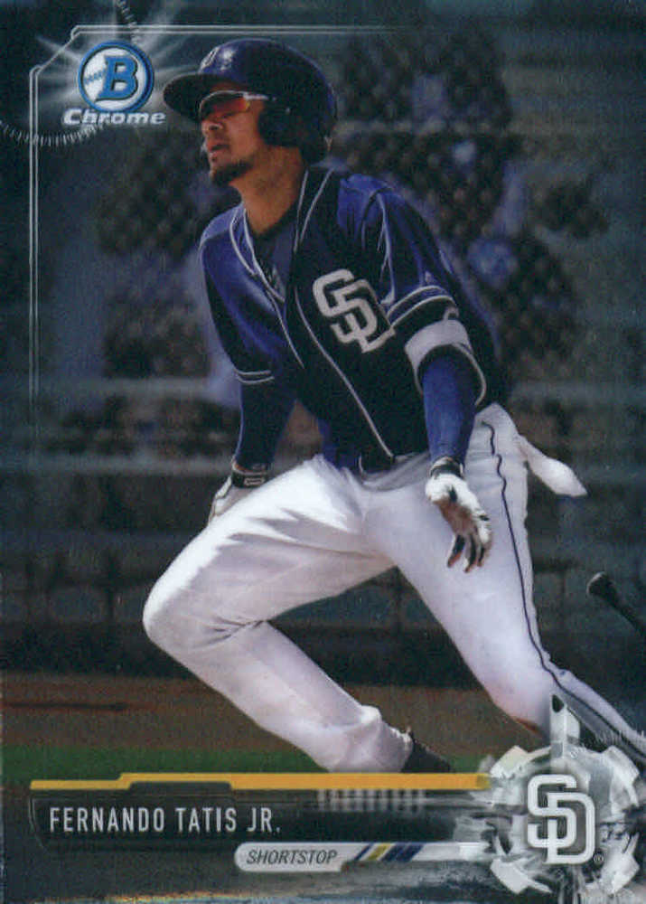 2017 Bowman Chrome Prospects #BCP160 Fernando Tatis Jr.