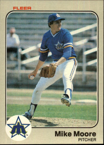 Photo of 1983 Fleer #482 Mike Moore RC