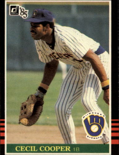 Photo of 1985 Donruss #170 Cecil Cooper