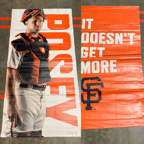 Photo of 2019 Street Banner - #28 Buster Posey