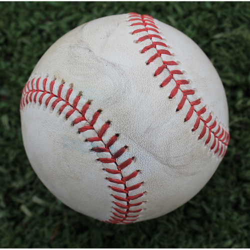 Photo of Game-Used Baseball: Brad Keller Pitched Strikeout to Yoan Moncada (CWS @ KC - 6/8/19)