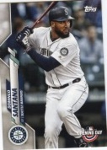 Photo of 2020 Topps Opening Day #8 Domingo Santana
