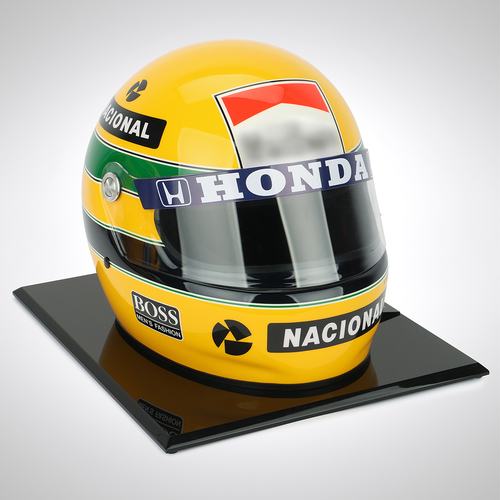 Photo of Ayrton Senna 1988 1:1 Replica Helmet