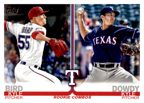 Photo of 2019 Topps Update #US183 Kyle Dowdy/Kyle Bird