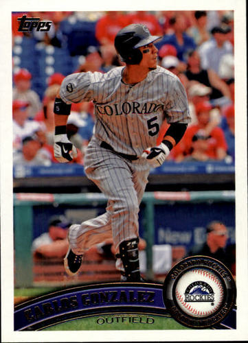 Photo of 2011 Topps #250A Carlos Gonzalez