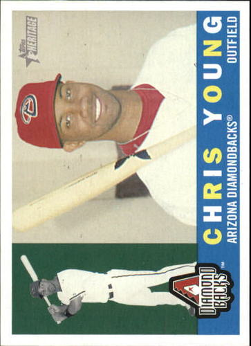 Photo of 2009 Topps Heritage #52 Chris Young