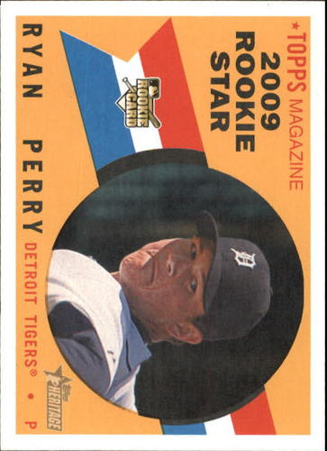 Photo of 2009 Topps Heritage #676 Ryan Perry RC