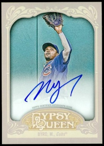 Photo of 2012 Topps Gypsy Queen Autographs #MB Marlon Byrd