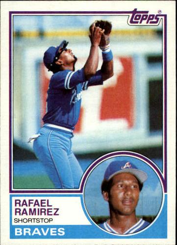 Photo of 1983 Topps #439 Rafael Ramirez