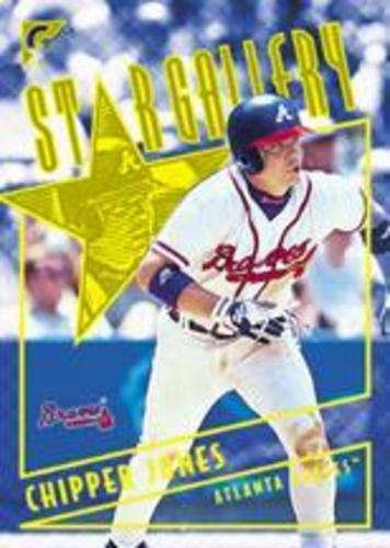 Photo of 2001 Topps Gallery Star Gallery #SG7 Chipper Jones