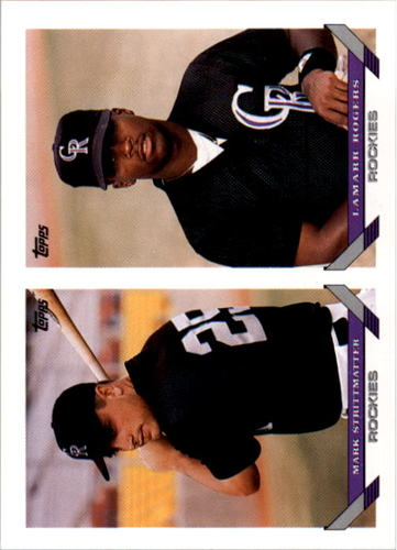 Photo of 1993 Topps #746 Mark Strittmatter/Lamarr Rogers RC