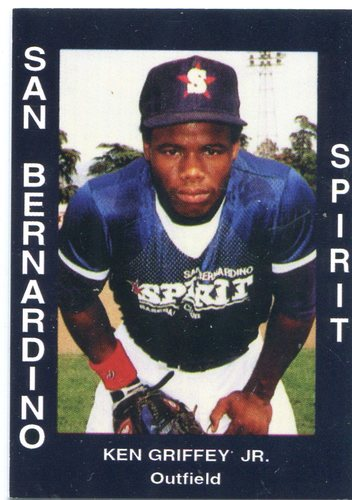 Photo of 1988 San Bernardino Spirit Cal League Cards #34 Ken Griffey Jr.