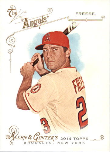 Photo of 2014 Topps Allen and Ginter #294 David Freese