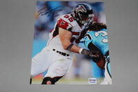 FALCONS - PAUL WORRILOW SIGNED 8X10 PHOTO