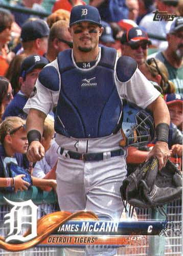 Photo of 2018 Topps #243 James McCann