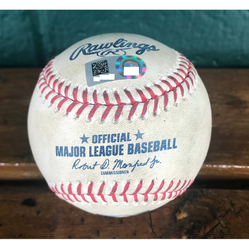 Cardinals Authentics: Game-Used Baseball Pitched by Michael Wacha to Yoan Moncada, Tim Anderson, & Jose Abreu *Single, Line Out, Foul*