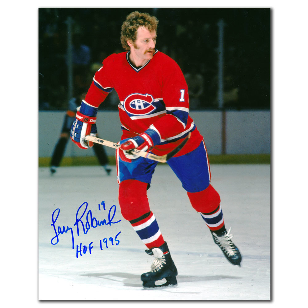 Larry Robinson Montreal Canadiens HOF Autographed 8x10