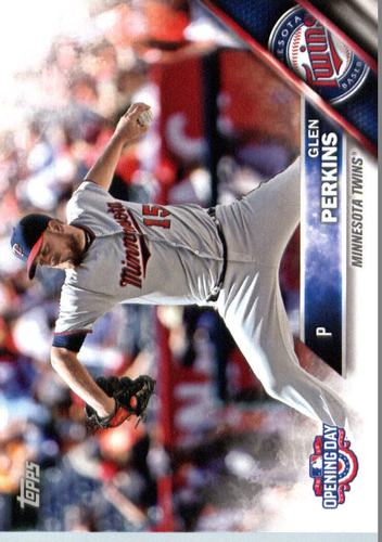 Photo of 2016 Topps Opening Day #OD140 Glen Perkins