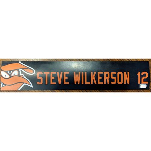 Photo of Steve Wilkerson #12 - Locker Tag: Team-Issued
