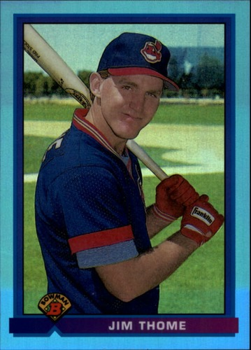 Photo of 2013 Bowman Rookie Reprint Blue Sapphire Refractors #68 Jim Thome