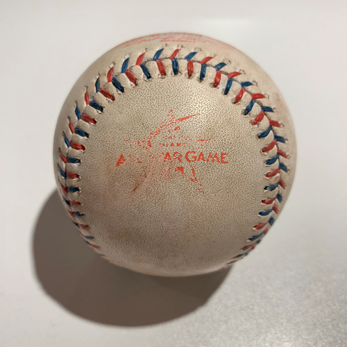 Photo of 2017 All Star Game - Game Used Baseball - Batter: George Springer/Carlos Correa Pitcher: Carlos Martinez - Strike Out/Strike Out