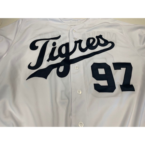 Photo of Team-Issued Fiesta Tigers Jersey: Morrison