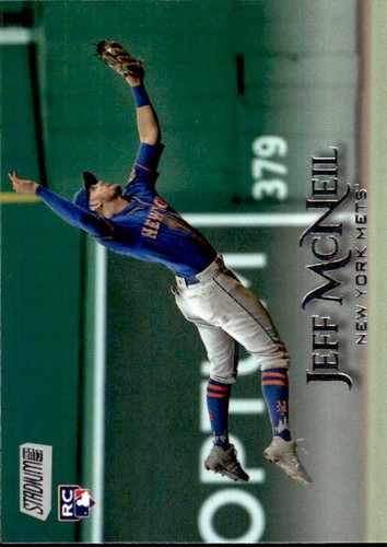 Photo of 2019 Stadium Club #130 Jeff McNeil RC