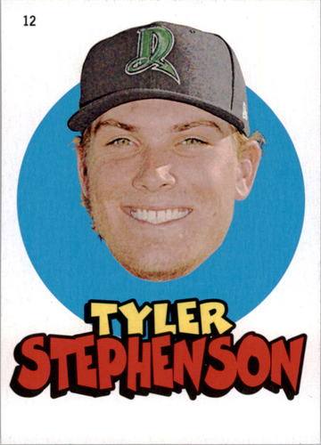 Photo of 2016 Topps Heritage Minors '67 Topps Stickers #12 Tyler Stephenson