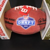 NFL - Jets Quinnen Williams Signed Authentic Football with 2019 NFL Draft Logo