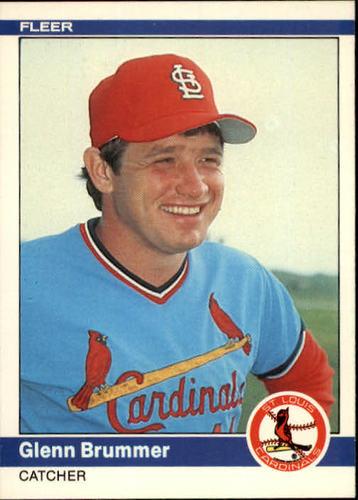 Photo of 1984 Fleer #321 Glenn Brummer