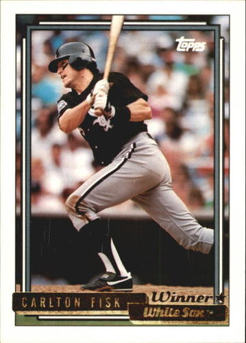 Photo of 1992 Topps Gold Winners #630 Carlton Fisk