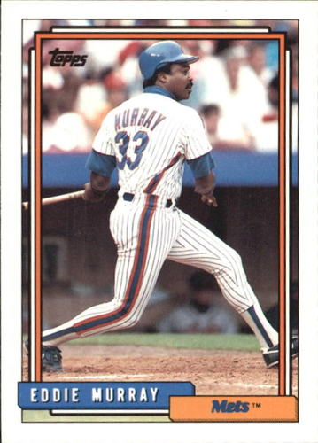 Photo of 1992 Topps Traded #79T Eddie Murray