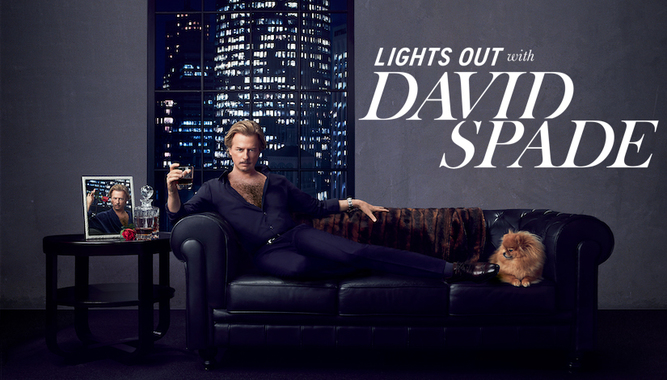 SEE LIGHTS OUT WITH DAVID SPADE IN LA