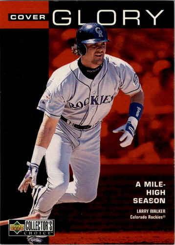 Photo of 1998 Collector's Choice #3 Larry Walker CG