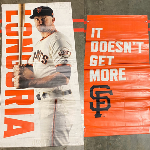 Photo of 2019 Street Banner - #10 Evan Longoria
