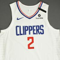 Kawhi Leonard - Los Angeles Clippers - Game-Worn Association Edition Jersey - Scored Team-High 22 Points - 2019-20 NBA Season