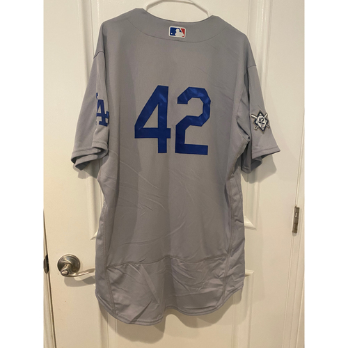 Bob Geren Authentic Game-Used Jersey from 8/28/20 Game @ TEX - Size  48