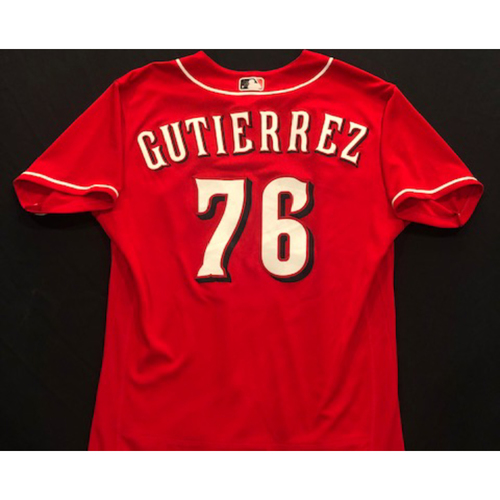 Vladimir Gutierrez -- 2020 Spring Training Jersey -- Team-Issued -- Size 46