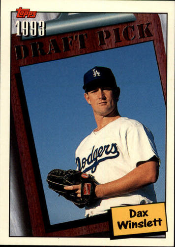 Photo of 1994 Topps #755 Dax Winslett RC