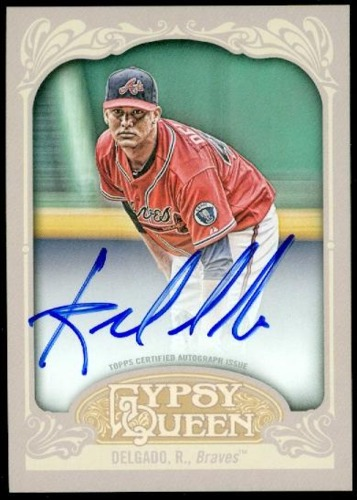 Photo of 2012 Topps Gypsy Queen Autographs #RD Randall Delgado