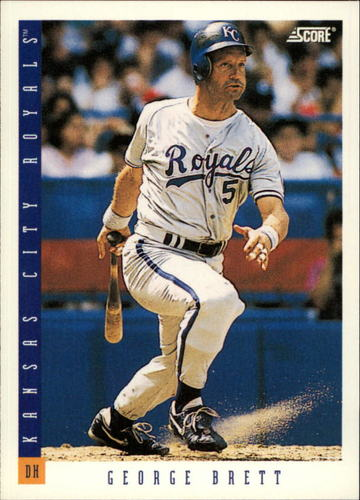 Photo of 1993 Score #57 George Brett